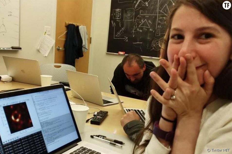 La chercheuse Katie Bouman