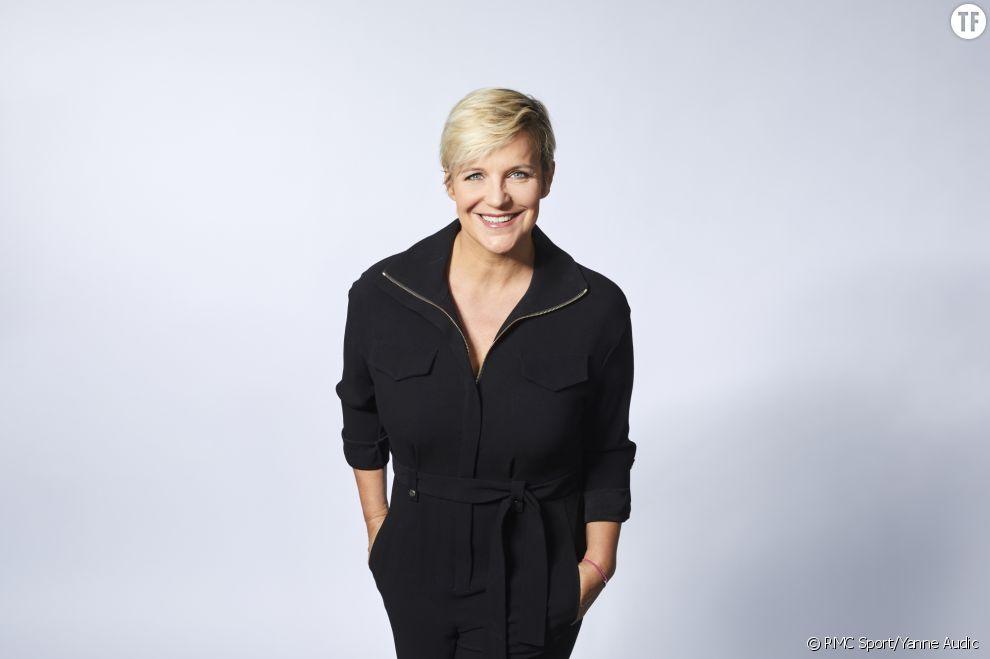Céline Géraud, présentatrice sur RMC Sport