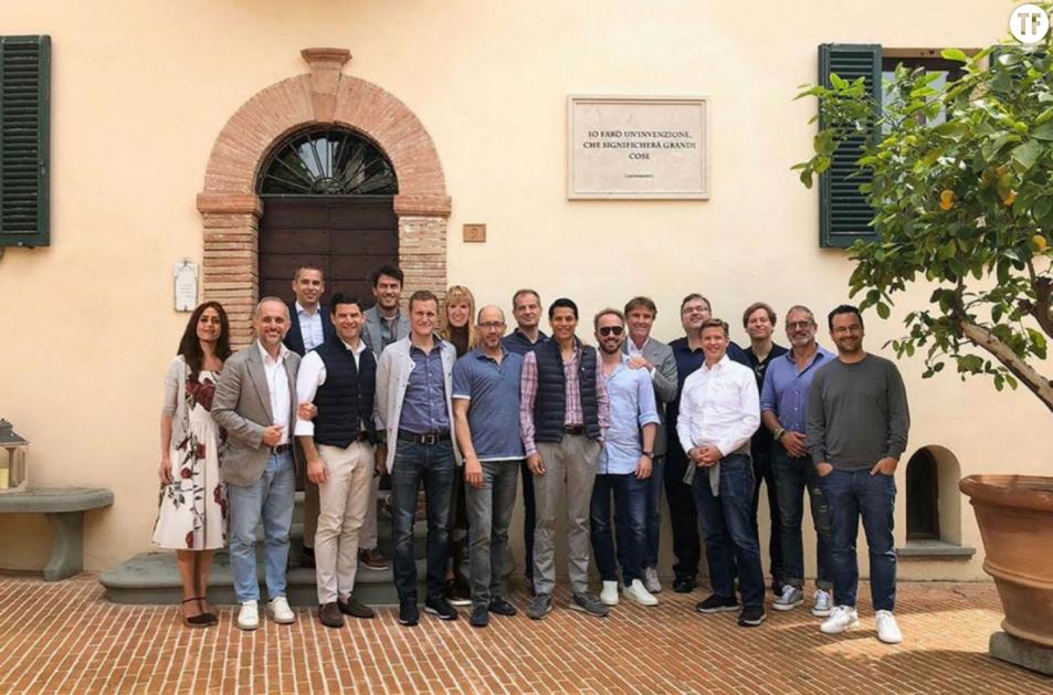 Silicon Valley - Deux entrepreneuses photoshopées lors d'un séminaire en Italie -