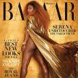 "Serena Williams pose non-retouchée pour ""Harper's Bazaar"""