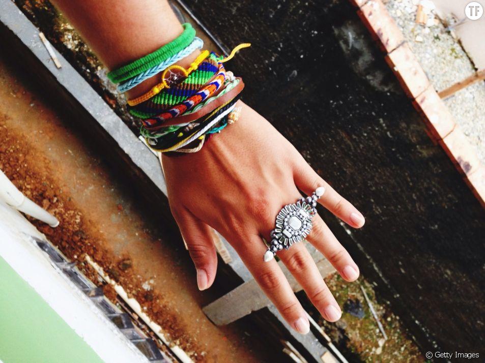 Le bracelet brésilien, éternel revenant de nos étés trop chauds.