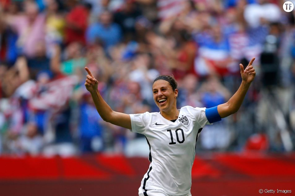 Carli Lloyd, une championne so girl power.