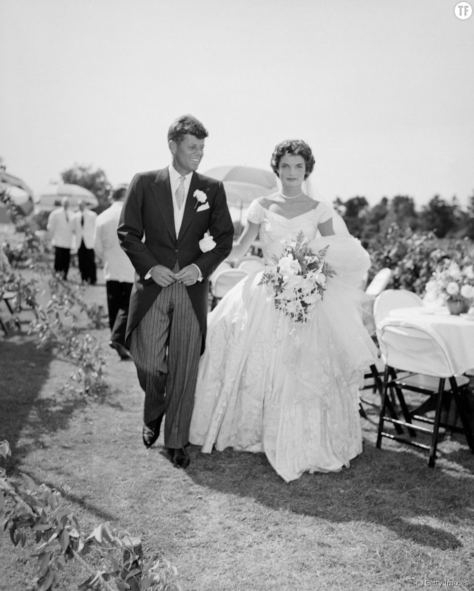 Une robe de mariée signée Ann Lowe.