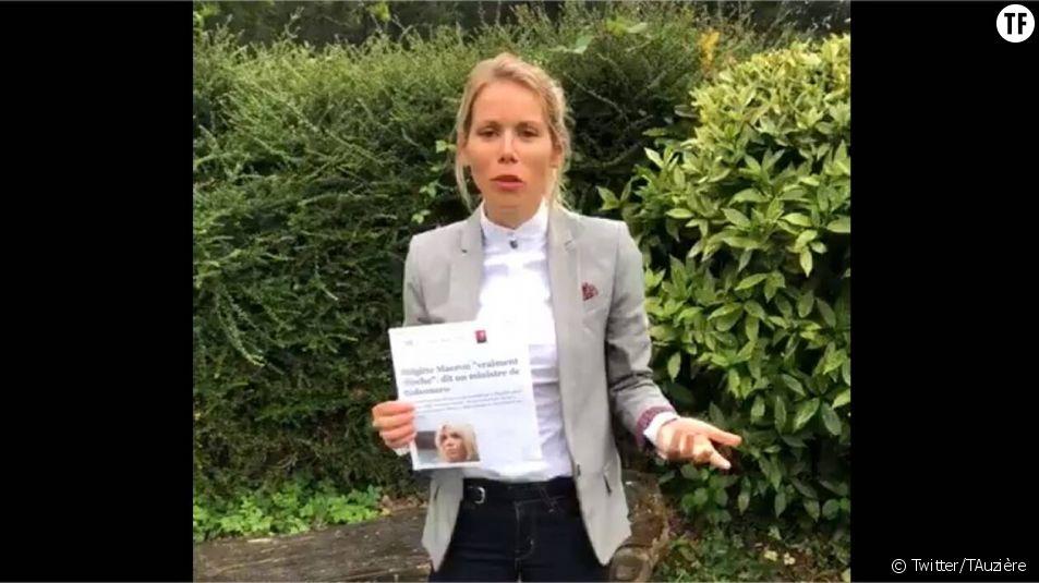 Face aux insultes misogynes contre sa mère, la fille de Brigitte Macron réplique