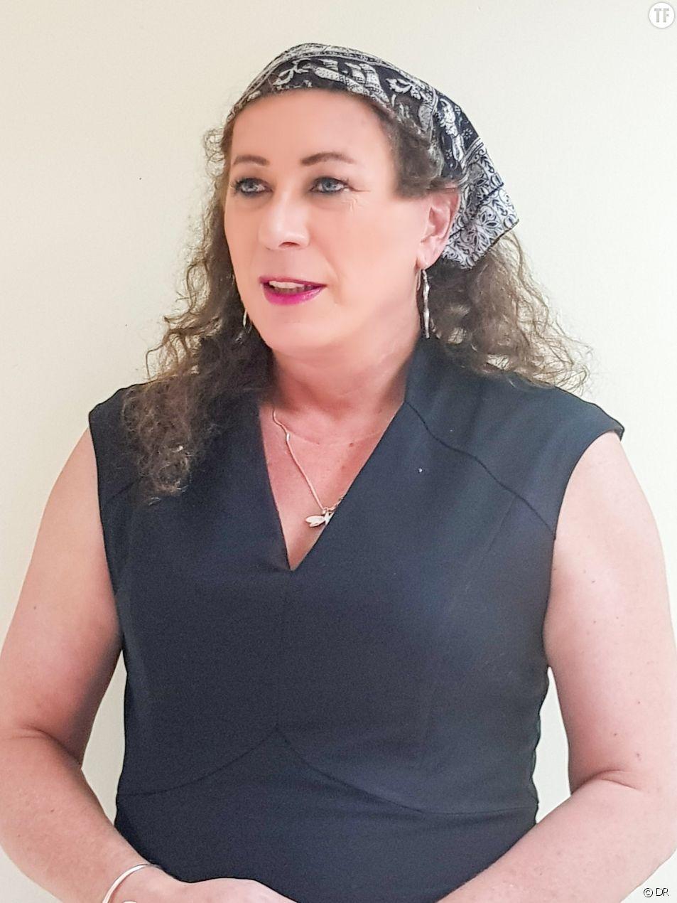 Céline Audebeau, militante transgenre