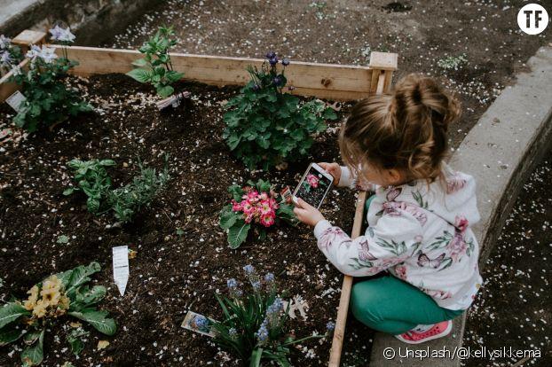 Jardiner avec des enfants