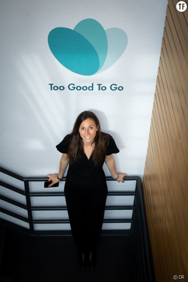 La fondatrice de Too Good To Go, Lucie Basch