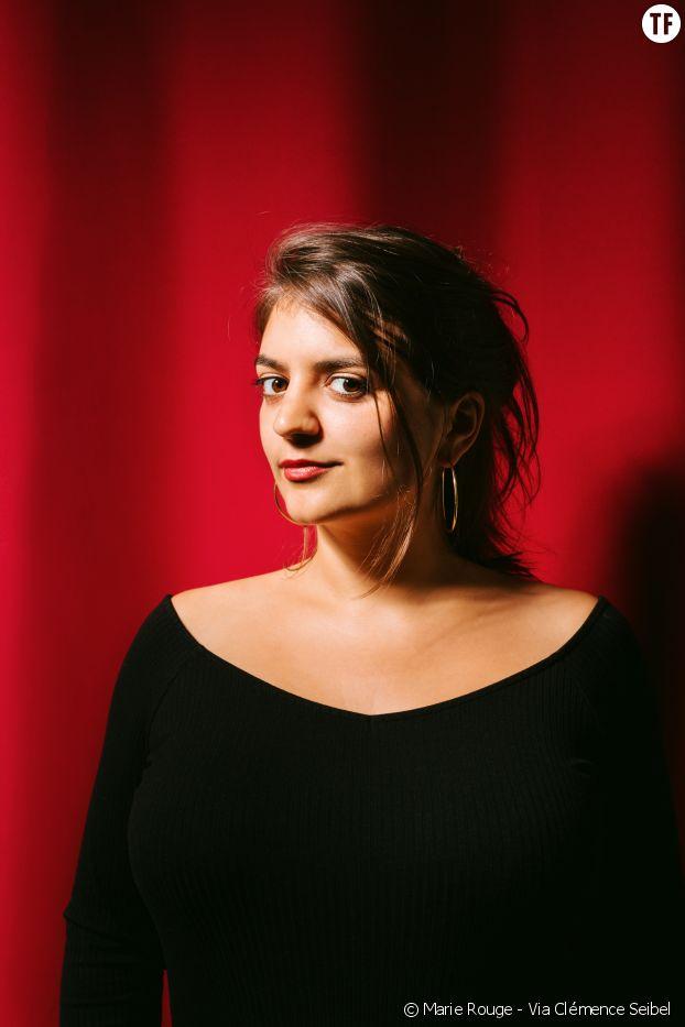 """Victoire Tuaillon, instigatrice et animatrice des """"Couilles sur la table""""."""