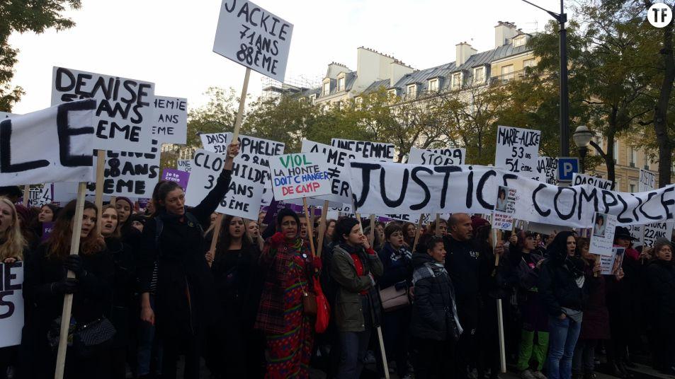 Marche Nous Toutes historique du 23 novembre 2019