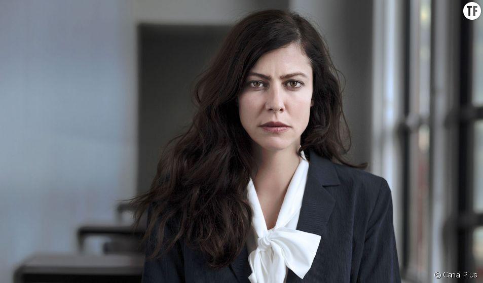 """Anna Mouglalis, première Présidente de la République dans la série """"Baron Noir"""""""