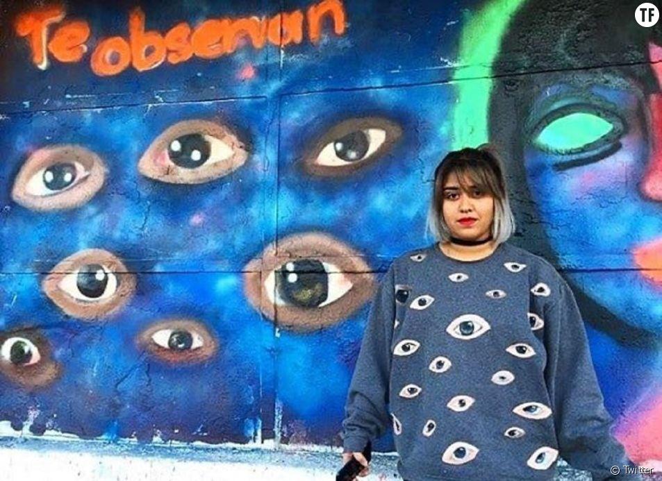 """L'autrice et activiste féministe Isabel Cabanillas, """"une de plus""""."""