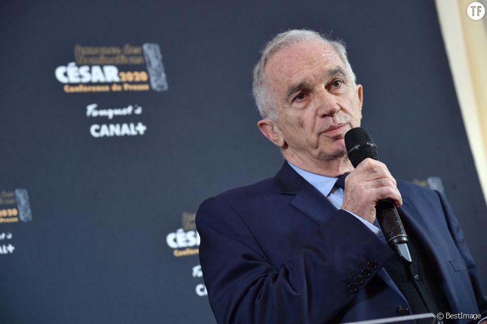 Alain Terzian, le président de l'académie des Césars.