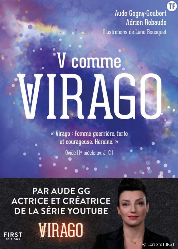 """""""V comme Virago"""", l'ouvrage pop féministe d'Aude Gogny-Goubert."""