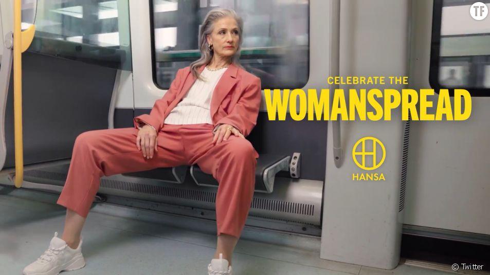 """""""Célébrons le womanspreading"""" !"""