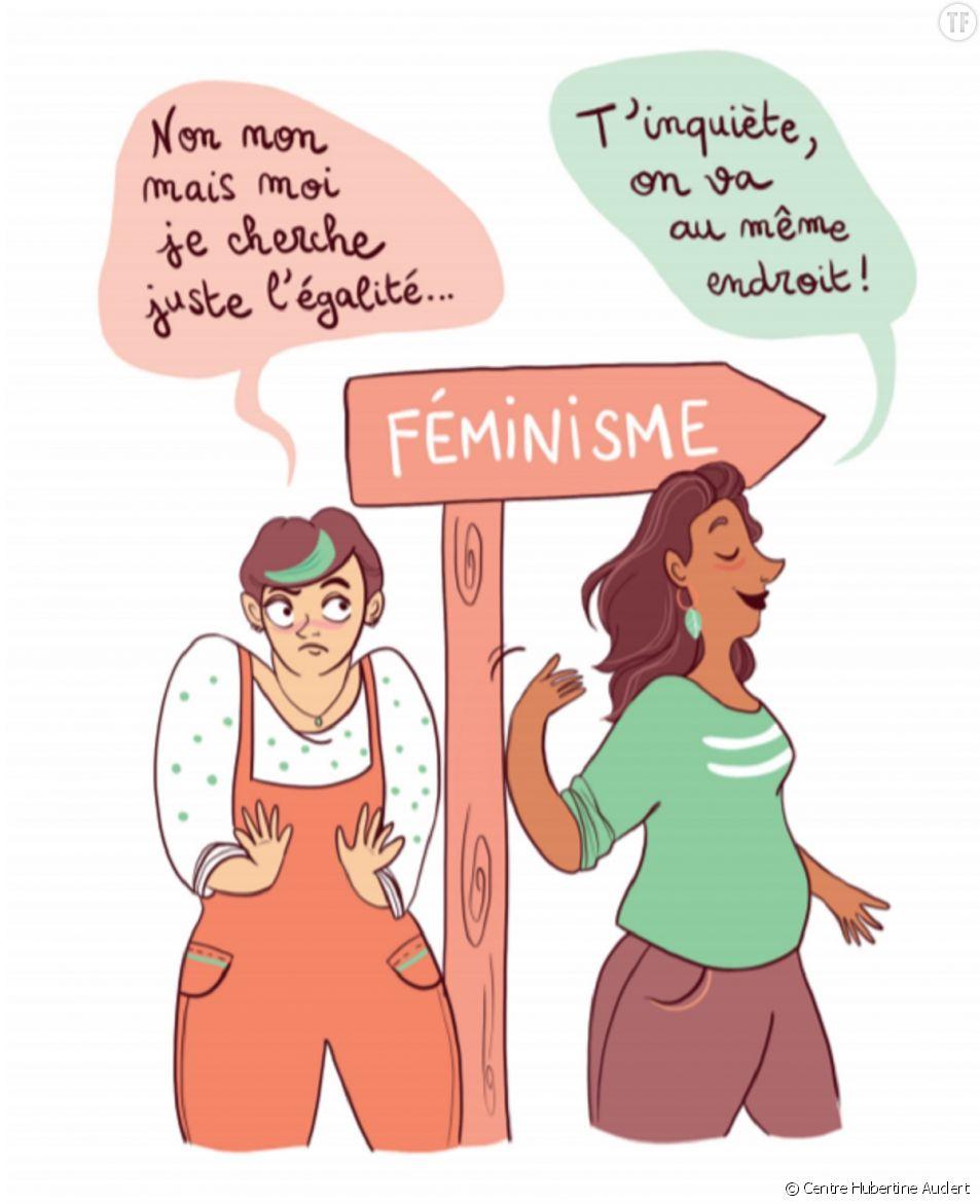 La dessinatrice et autrice Marine Spaak illustre ce parfait guide du féminisme.