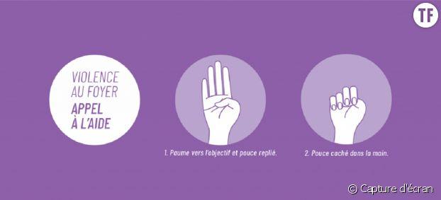 Un simple signe de la main suffit pour alerter.