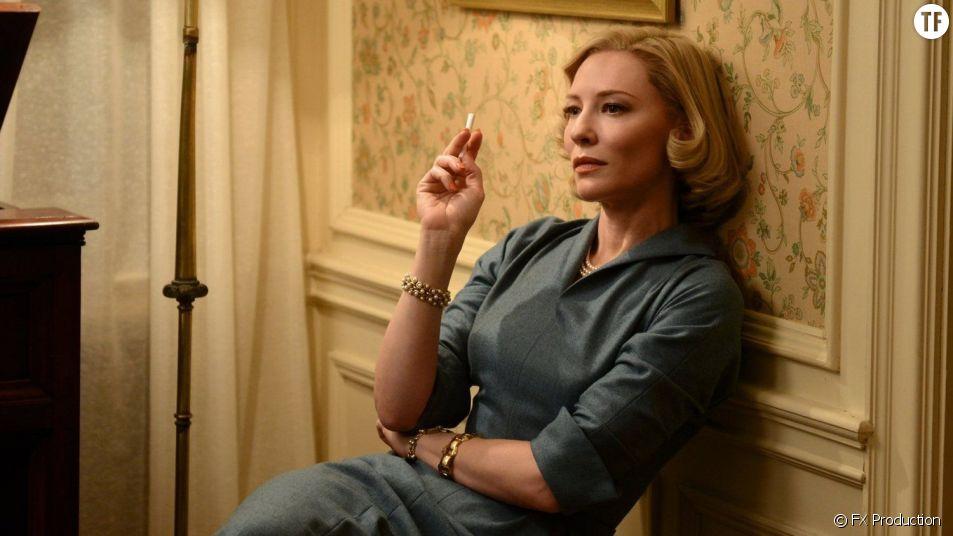 Cate Blanchett dans le rôle de Phyllis Schlafly dans Mrs America