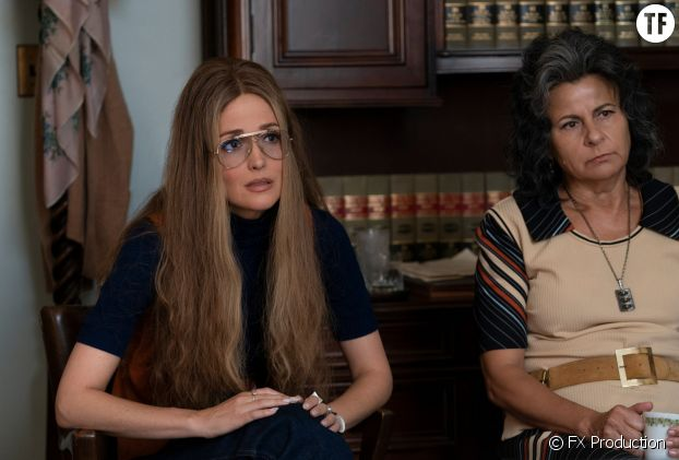 "Gloria Steinem et Betty Friedan dans ""Mrs America"""