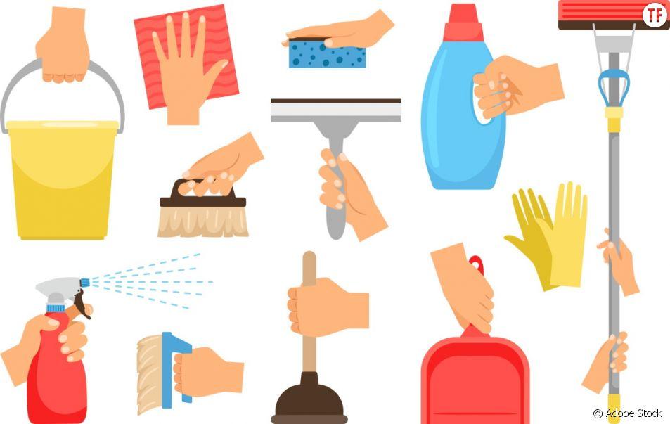 La répartition des tâches ménagères, encore bien trop inégale.