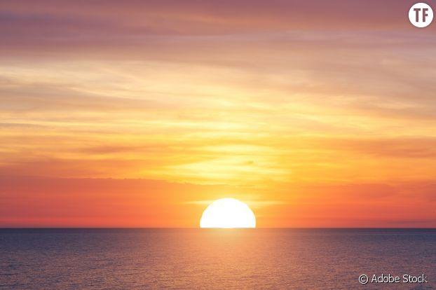 Le coucher de soleil, toute une philosophie.
