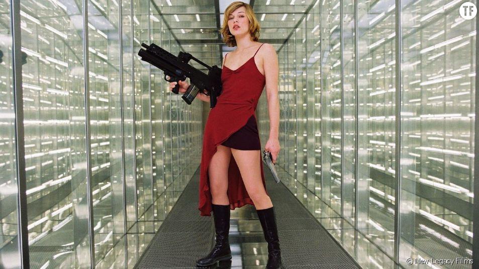 """Resident Evil"", avec l'ancienne mannequin Milla Jovovich."
