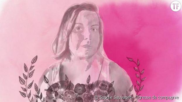 Autoportrait de Sophie Sauvaget