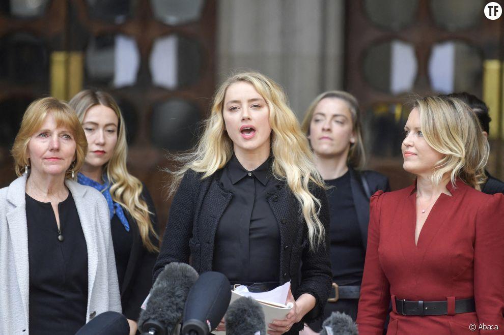 Amber Heard réitère ses accusations.
