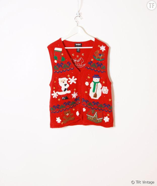 Pull de Noël, Tilt Vintage, 24 euros.