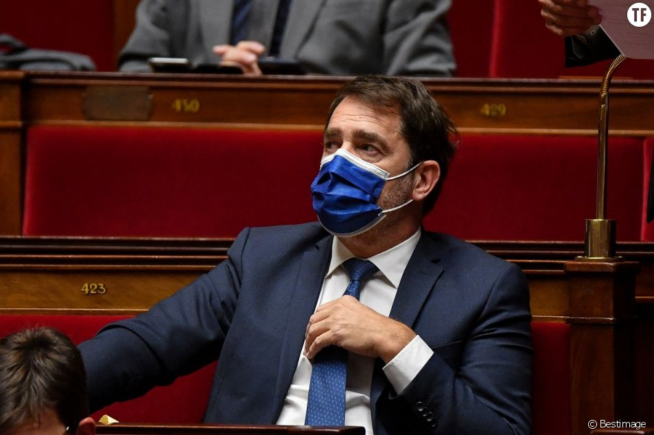 Christophe Castaner à l'Assemblée nationale, le 19 janvier 2021.
