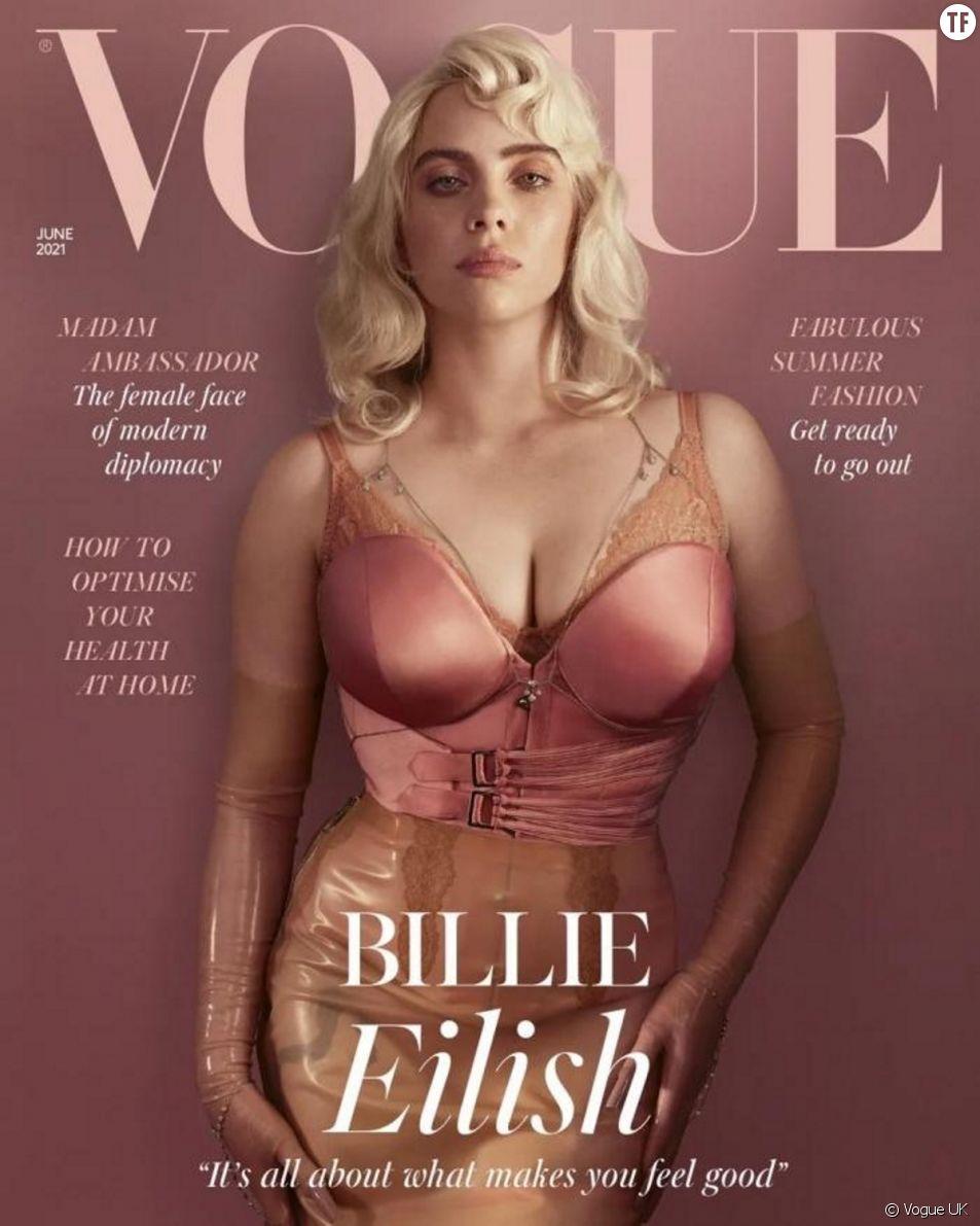 En Une du magazine Vogue, Billie Eilish prône un message libérateur. Et paradoxal ?