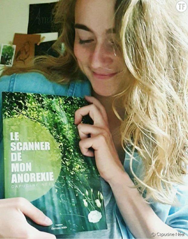 """Capucine Néel et son livre """"Scanner de mon anorexie"""""""
