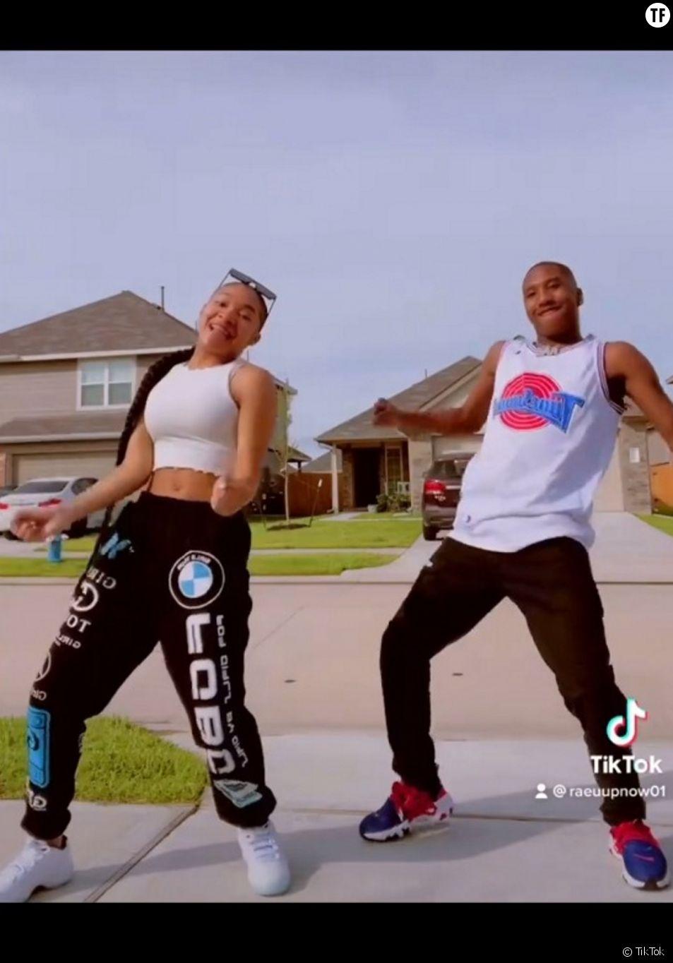 La danseuse afroaméricaine Mya Nicole (@theemyanicole) sur TikTok.