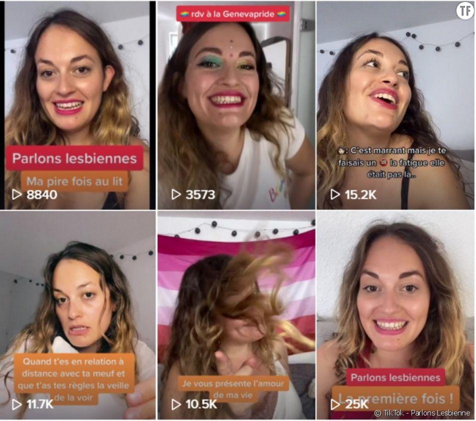 6 comptes TikTok qui défrisent les sexistes [Image : TikTok - Parlons Lesbienne]