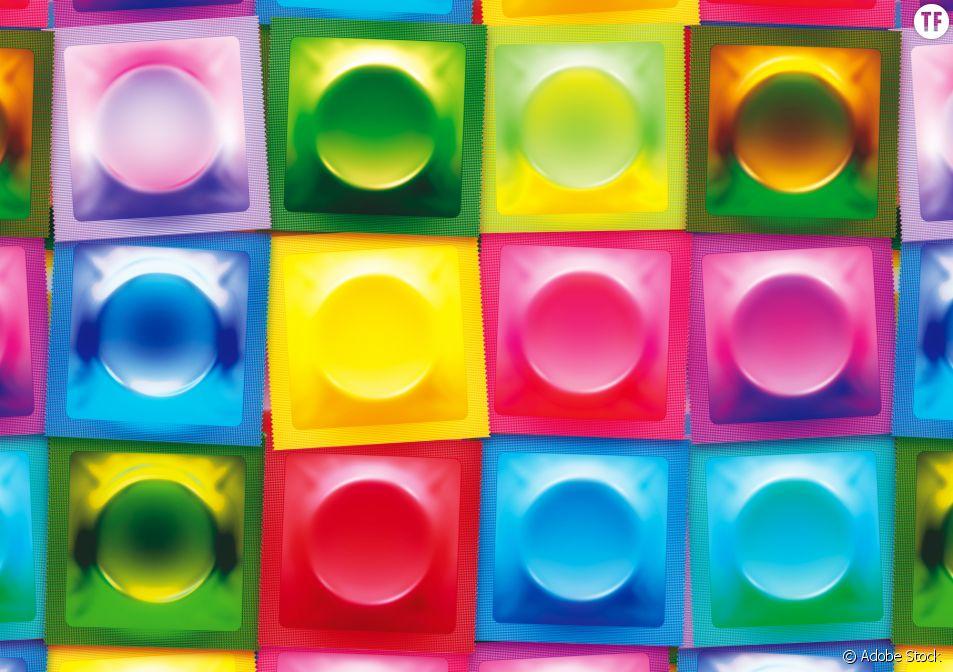 Des messages sur le consentement inscrits sur les préservatifs ?