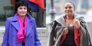 Mariage pour tous : Taubira/Bertinotti, deux ministres et deux styles pour un projet de loi