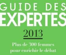 """Le """"Guide des Expertes"""" 2013 pour donner la parole aux femmes dans les médias"""