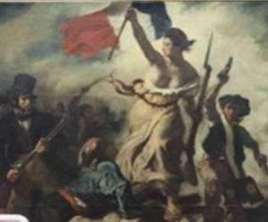 """Tableau de Delacroix vandalisé : l'acte d'une """"déséquilibrée"""""""