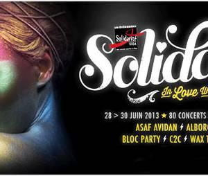 Solidays 2013 : programme et ouverture de la vente de billets