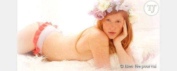 mariage de la lingerie blanche pour la nuit de noces - Guepiere Blanche Mariage