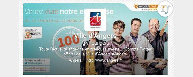 Angers, ville reine de Twitter en France