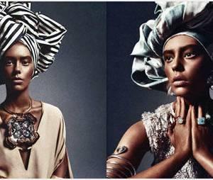 Numero : son mannequin blanc maquillé en femme noire fait polémique