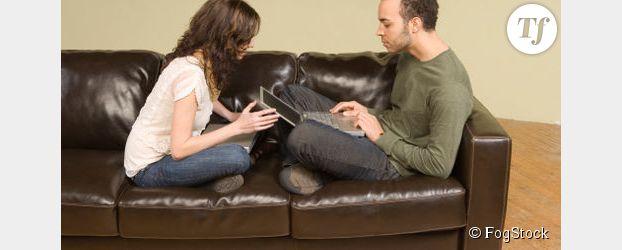 L'ordinateur est une source de disputes dans les couples