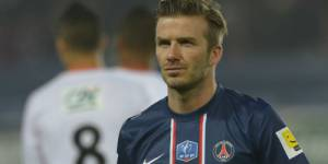 Interview de David Beckham au JT en direct live streaming et sur TF1 Replay