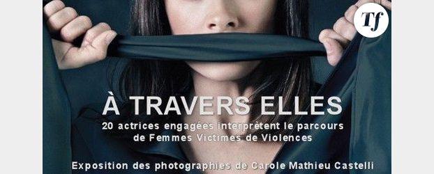 Lamy, Dombasle, Taglioni... posent contre les violences faites aux femmes - photos