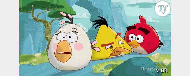 Dessin anim - Jeu info angry birds ...