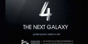 Galaxy S4 : Keynote Samsung du 14 mars en direct live streaming sur Internet