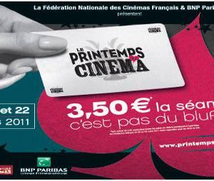 12ème édition du Printemps du Cinéma: c'est parti pour trois jours!