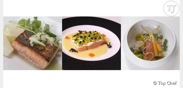Top Chef 2013 : le saumon en trois recettes