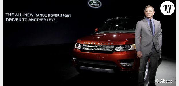 Daniel Craig fait de la publicité pour Land Rover