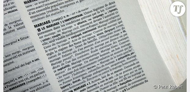 Le mariage change de définition dans le dictionnaire